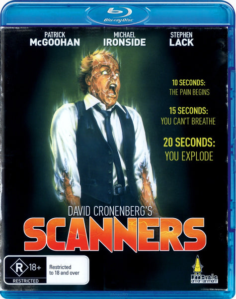 SCANNERS BLURAY R16 VG+