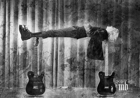 JOHN 5 - LEVITATION - LIMITED EDITION MARYANNE BILHAM PHOTOGRAPHIC PRINT *NEW*