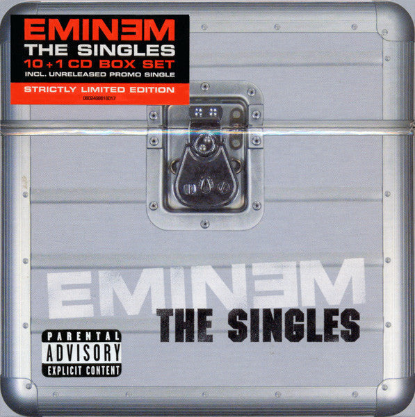 EMINEM-THE SINGLES 11CD BOXSET G