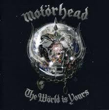 MOTORHEAD-THE WORLD IS YOURS CD VG