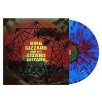 KING GIZZARD & THE LIZARD WIZARD-NONAGON INFINITY BLUE/ RED VINYL NM COVER NM