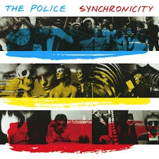 POLICE THE-SYNCHRONICITY LP EX COVER VG