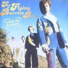 FLYING BURRITO BROS-LIVE IN EUROPE CD VG