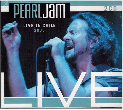 PEARL JAM-LIVE IN CHILE 2005 2CD VG