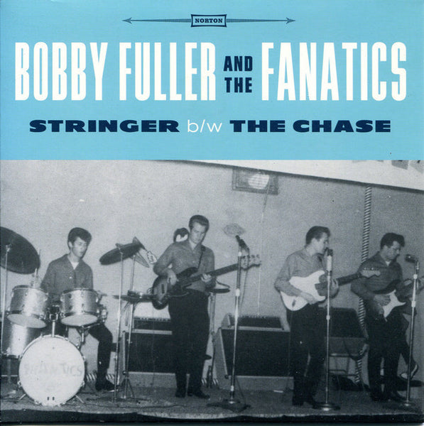 "FULLER BOBBY AND THE FANATICS-STRINGER 7"" SINGLE *NEW*"