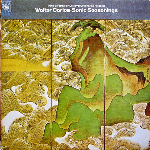 CARLOS WALTER-SONIC SEASONINGS 2LP VG+ COVER G