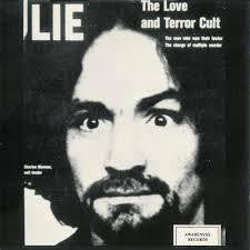 MANSON CHARLES-LIE:THE LOVE AND TERROR CULT CD VG