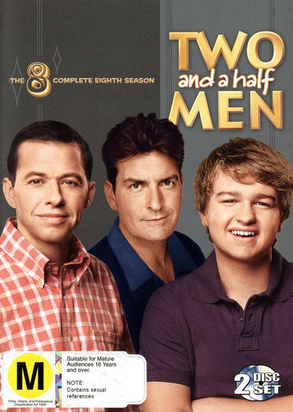TWO AND A HALF MEN SEASON 8 - 2DVD VG
