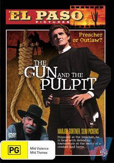 GUN AND THE PULPIT DVD VG