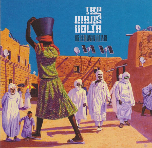 MARS VOLTA THE-THE BEDLAM IN GOLIATH CD VG
