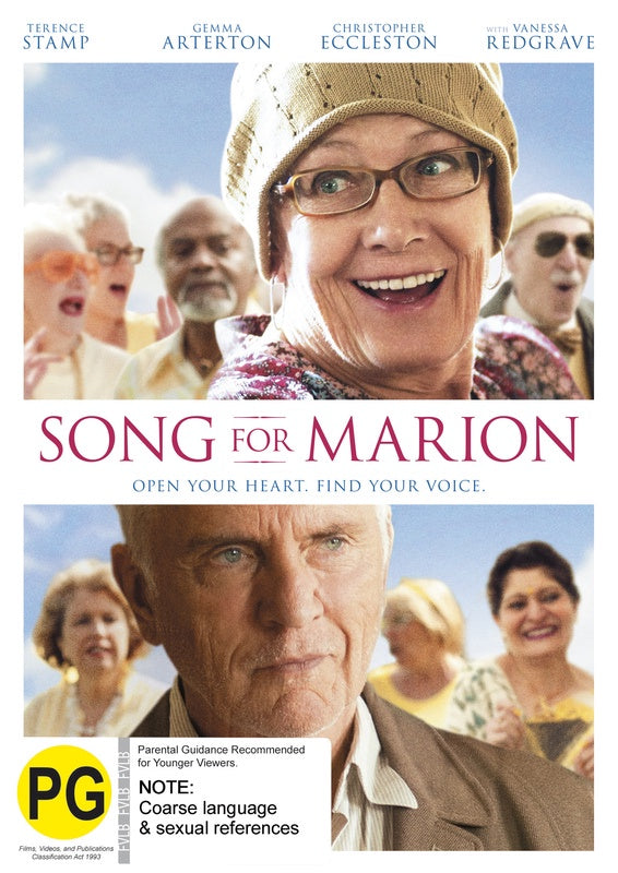 SONG FOR MARION DVD VG