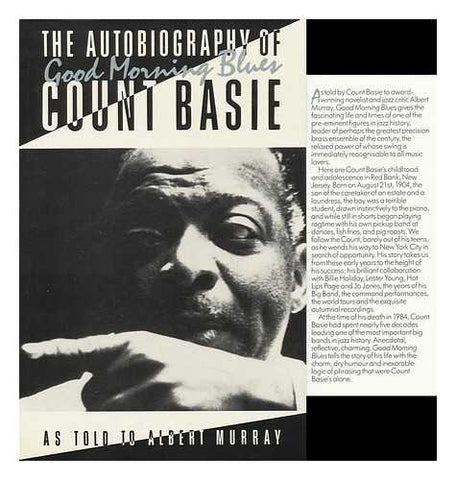 BASIE COUNT-GOOD MORNING BLUES BOOK VG