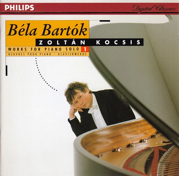 BARTOK-WORKS FOR PIANO SOLO 1 KOCSIS CD VG+