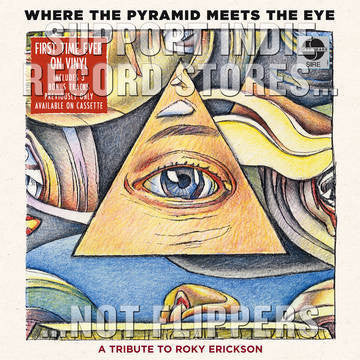 WHERE THE PYRAMID MEETS THE EYE-VARIOUS ARTISTS 2LP *NEW*