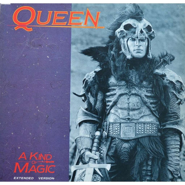 "QUEEN-A KIND OF MAGIC 12"" NM COVER VG+"