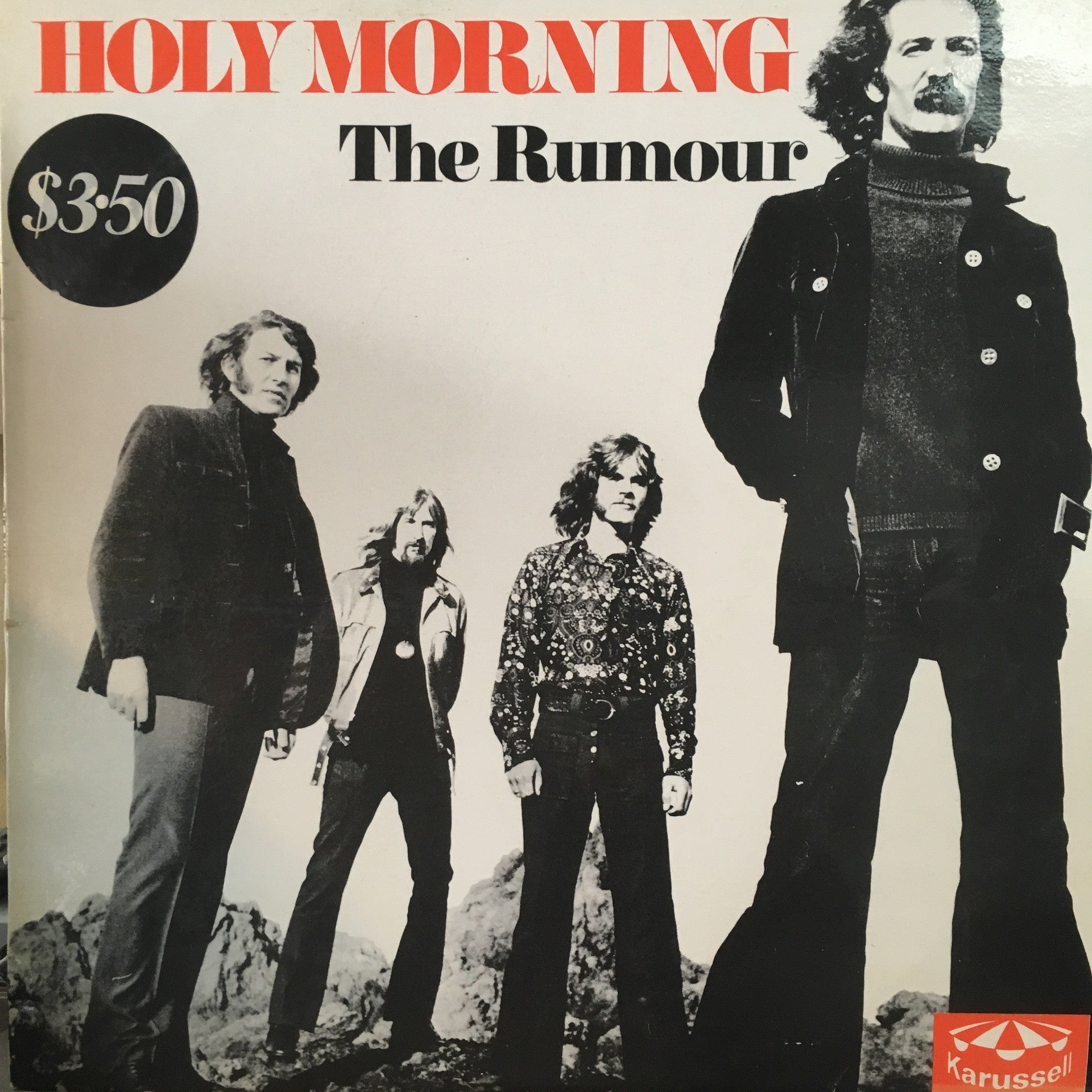 RUMOUR THE-HOLY MORNING LP VG COVER VG+
