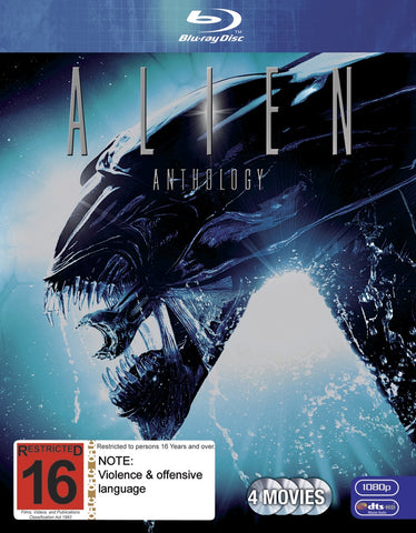 ALIEN ANTHOLOGY 4 BLURAY R16 VG+