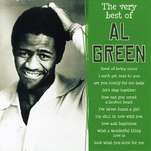 GREEN AL-THE VERY BEST OF AL GREEN CD VG