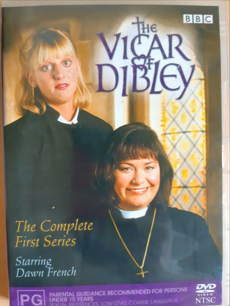 VICAR OF DIBLEY DVD VG