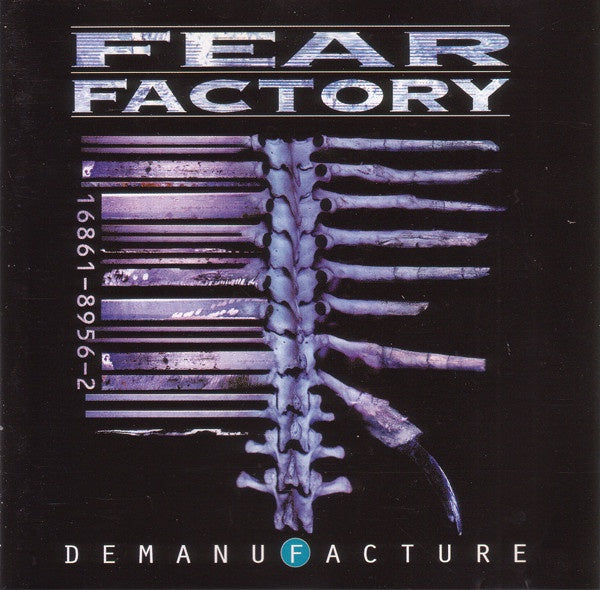 FEAR FACTORY-DEMANUFACTURE 2CD VG