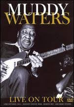 WATERS MUDDY-LIVE ON TOUR DVD VG+