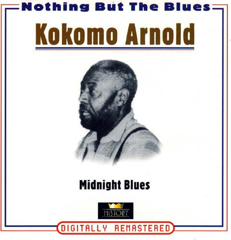 ARNOLD KOKOMO-MIDNIGHT BLUES 2CD VG