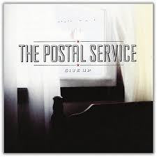 POSTAL SERVICE-GIVE UP 2LP EX COVER VG+
