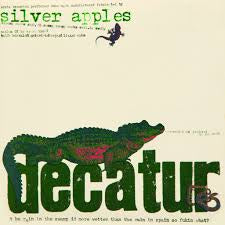 SILVER APPLES-DECATUR WHITE/ GREEN SPLATTER VINYL LP NM COVER EX
