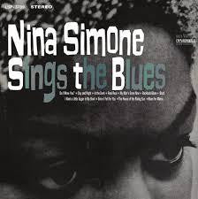 SIMONE NINA-SINGS THE BLUES LP VG+ COVER EX