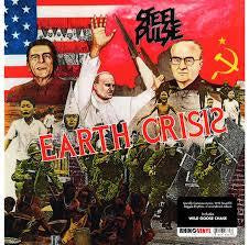 STEEL PULSE-EARTH CRISIS LP EX COVER EX