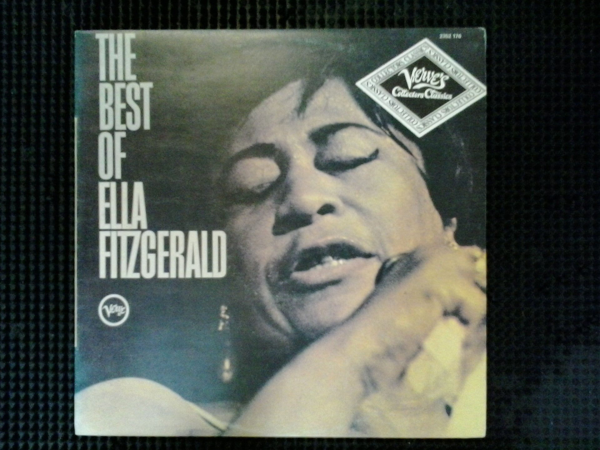 FITZGERALD ELLA-THE BEST OF LP EX COVER VG+