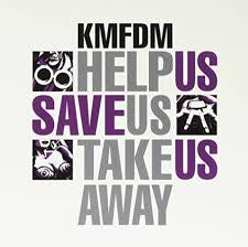 "KMFDM-HELP US SAVE US TAKE US AWAY 12"" M COVER VG+"