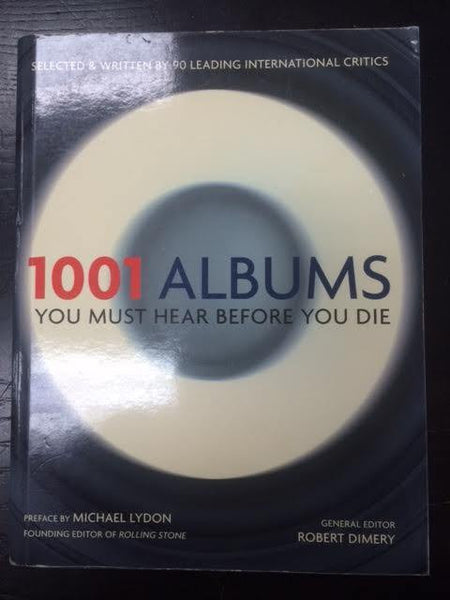 1001 ALBUMS YOU MUST HEAR BEFORE YOU DIE BOOK VG