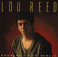 REED LOU-GROWING UP IN PUBLIC LP VG+ COVER VG+