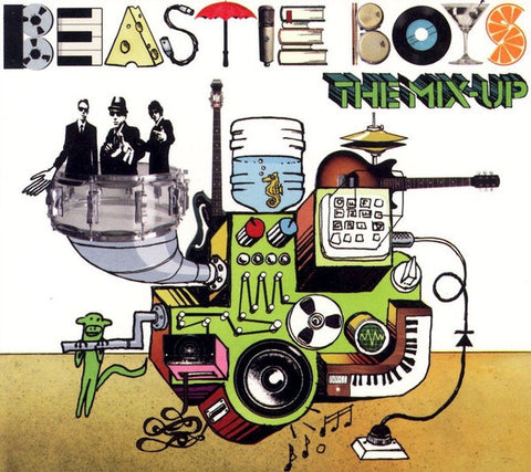 BEASTIE BOYS-THE MIX-UP CD *NEW*