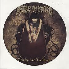 CRADLE OF FILTH-CRUELTY AND THE BEAST PICTURE DISC NM