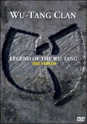 WU-TANG CLAN-LEGEND OF THE WU-TANG THE VIDEOS DVD VG