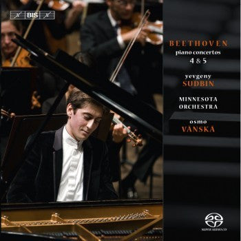 BEETHOVEN-PIANO CONCERTOS 4 AND 5 SUDBIN *NEW*