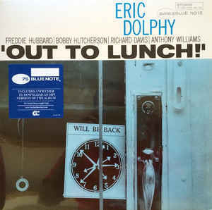 DOLPHY ERIC-OUT TO LUNCH LP *NEW*