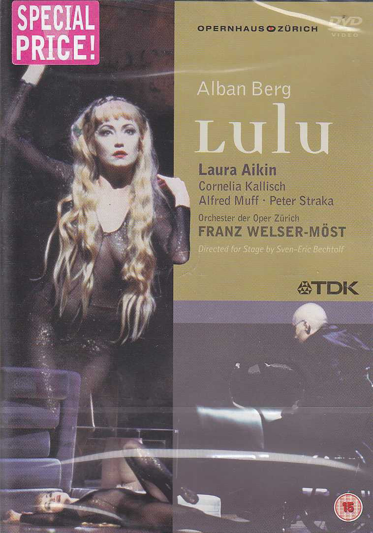 BERG ALBAN-LULU FRANZ WELSER-MOST DVD *NEW*