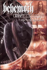 BEHEMOTH-LIVE ESCHATON THE ART OF REBELLION DVD VG