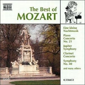 MOZART-THE BEST OF CD *NEW*