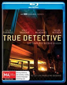 TRUE DETECTIVE-THE COMPLETE SECOND SEASON 3BLURAY VG+