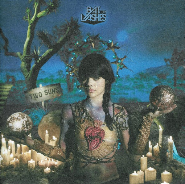 BAT FOR LASHES-TWO SUNS CD VG