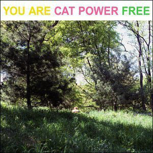 CAT POWER-YOU ARE FREE LP EX COVER EX