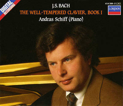 BACH-THE WELL TEMPERED CLAVIER BOOK 1 ANDRAS SCHIFF 2CD G