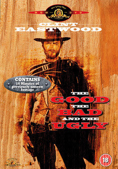THE GOOD THE BAD AND THE UGLY DVD VG