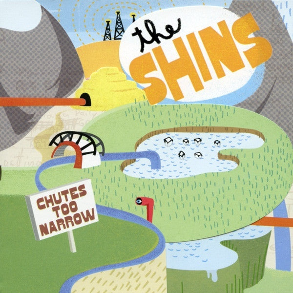 SHINS THE-CHUTES TOO NARROW CD VG