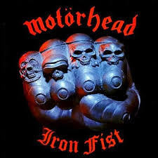 MOTORHEAD-IRON FIST LP *NEW*