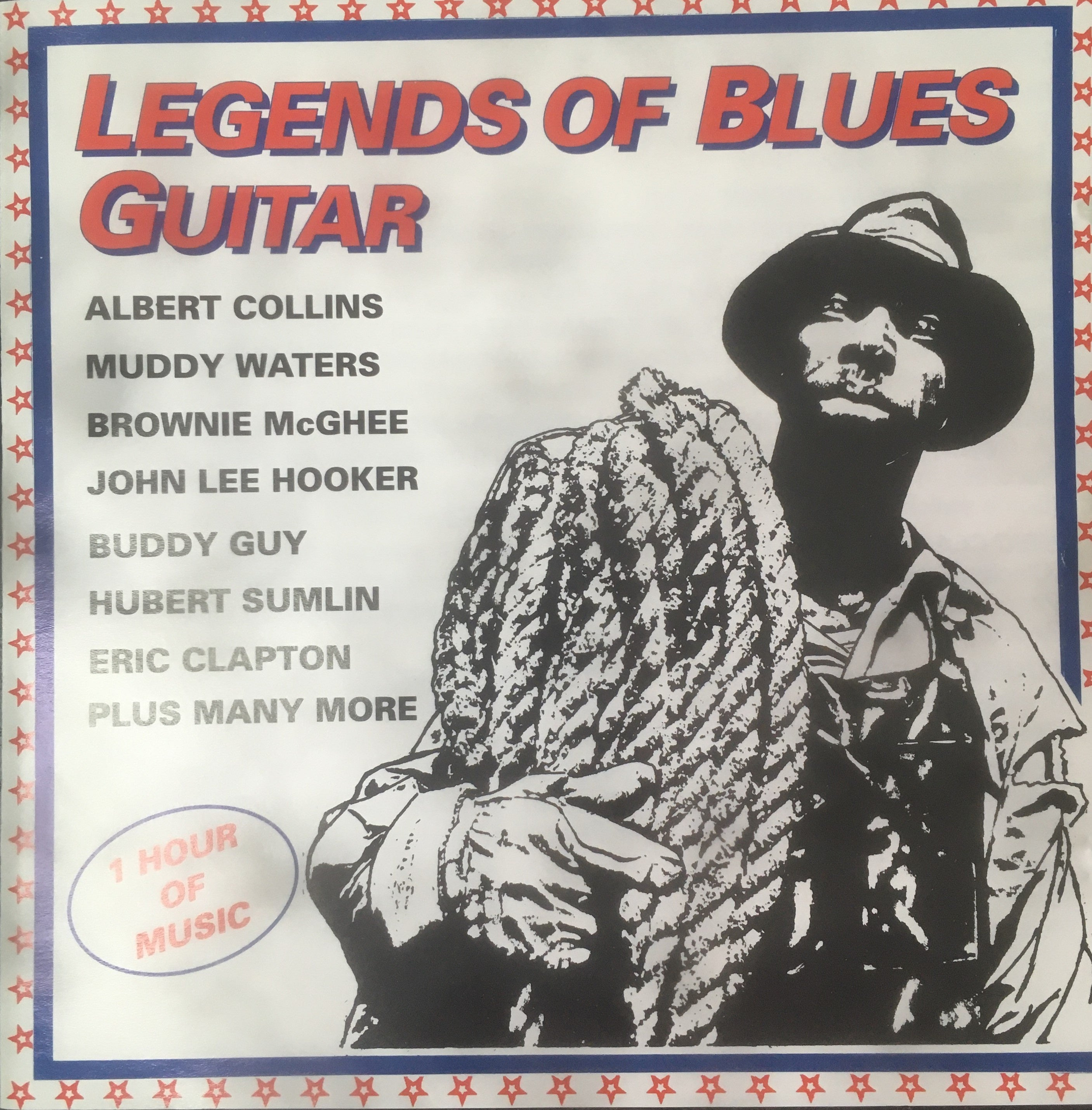 LEGENDS OF BLUES GUITAR- VARIOUS ARTISTS CD VG+